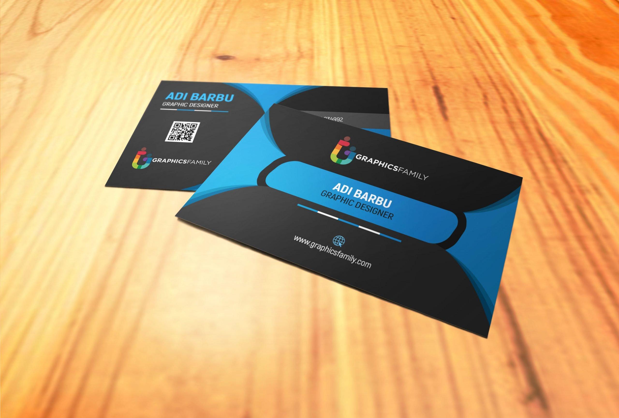 Free PSD Download Black Elegant Corporate Card