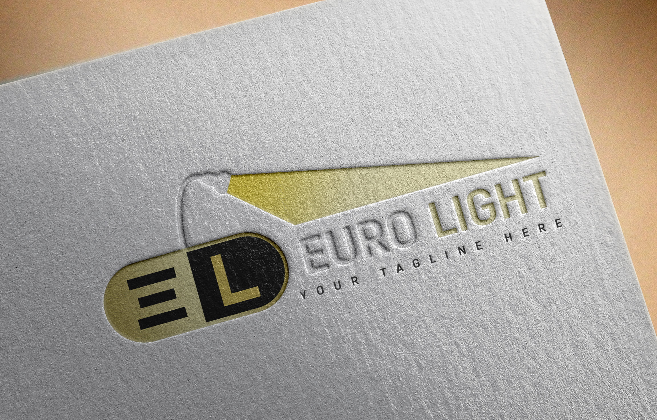 Free Photoshop Creative Lights Logo Design