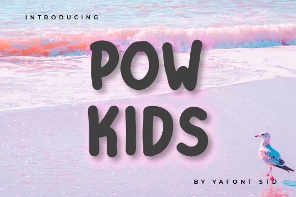 Free Pow-Kids-Font