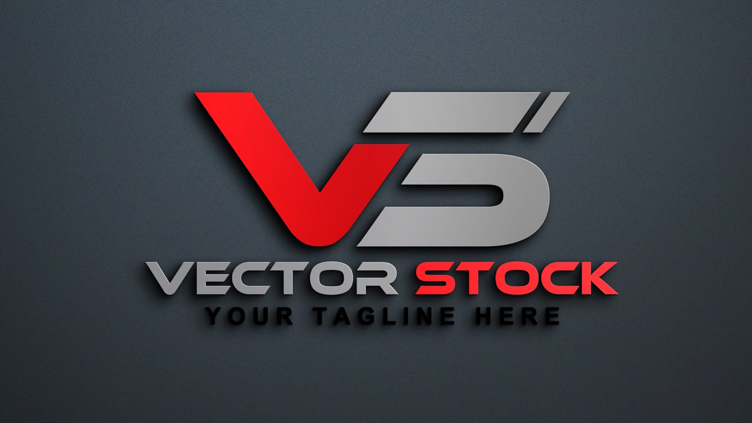 Free Vector Stock Logo Design PSD by GraphicsFamily