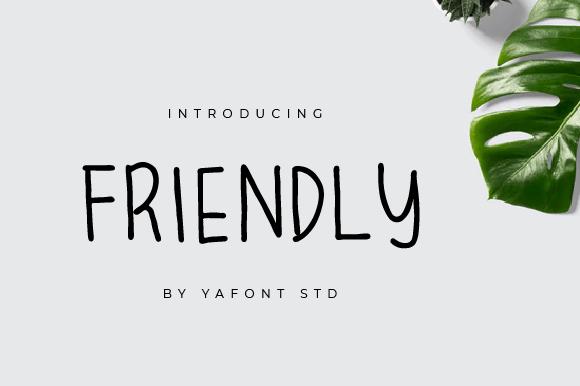 Friendly-Font Download