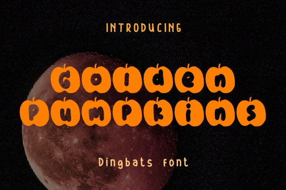 Golden-Pumpkins-Font Download