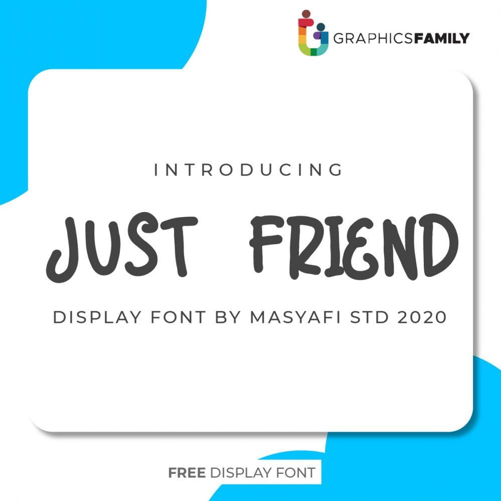 Just Friend Font