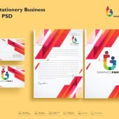 Modern Stationery Business Pack Free Psd