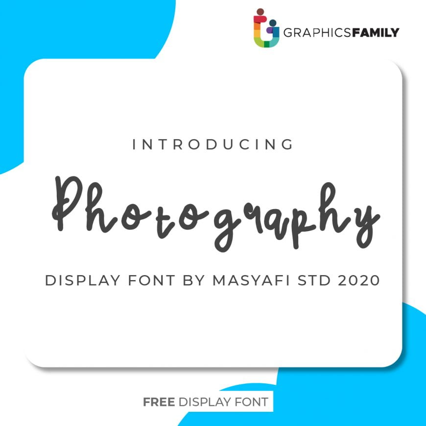 PHOTOGRAPHY FONT
