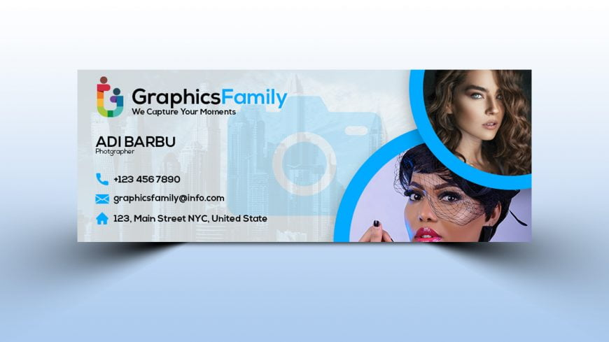 Photography Business Marketing Promotion Facebook Cover Template