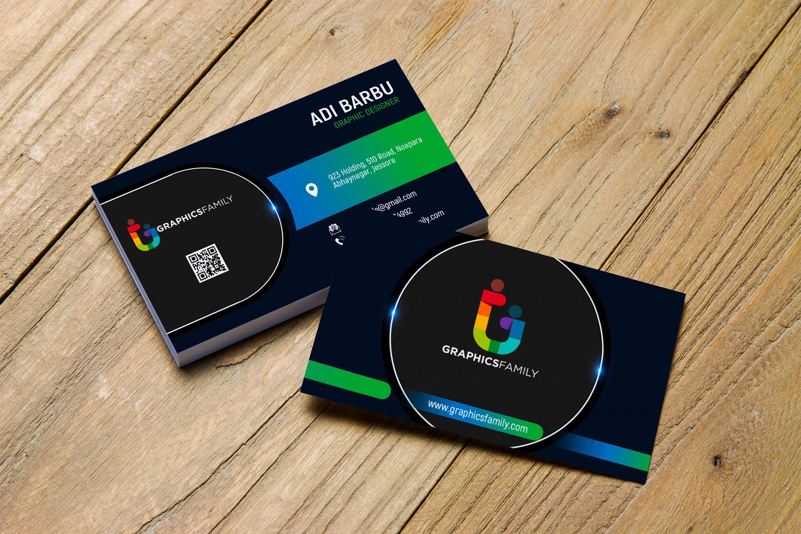 Professional Business Card Design 1
