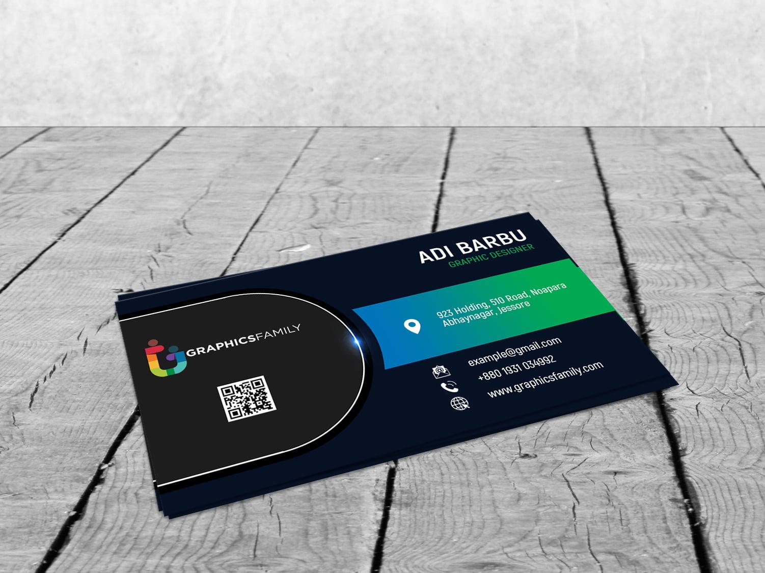 Professional Business Card Design 2