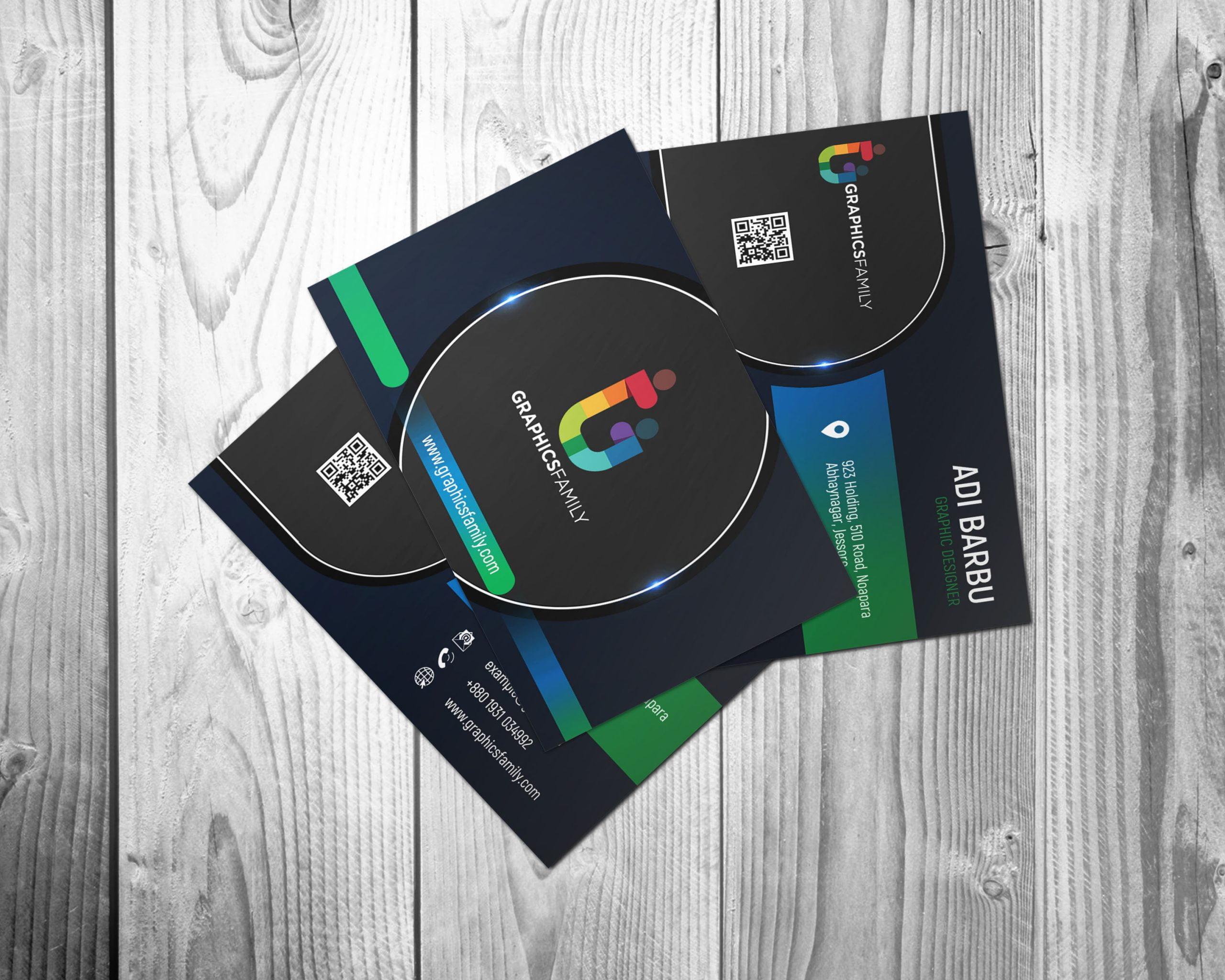 Professional Business Card Design 3