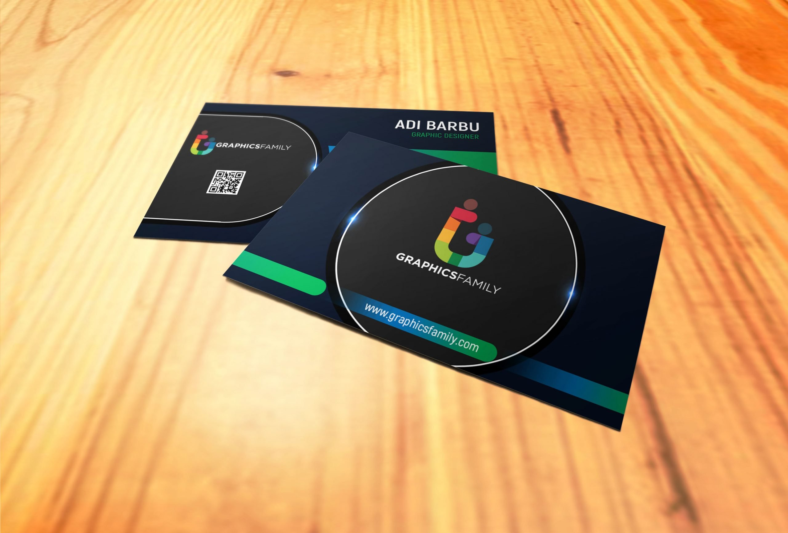 Professional Business Card Design 4