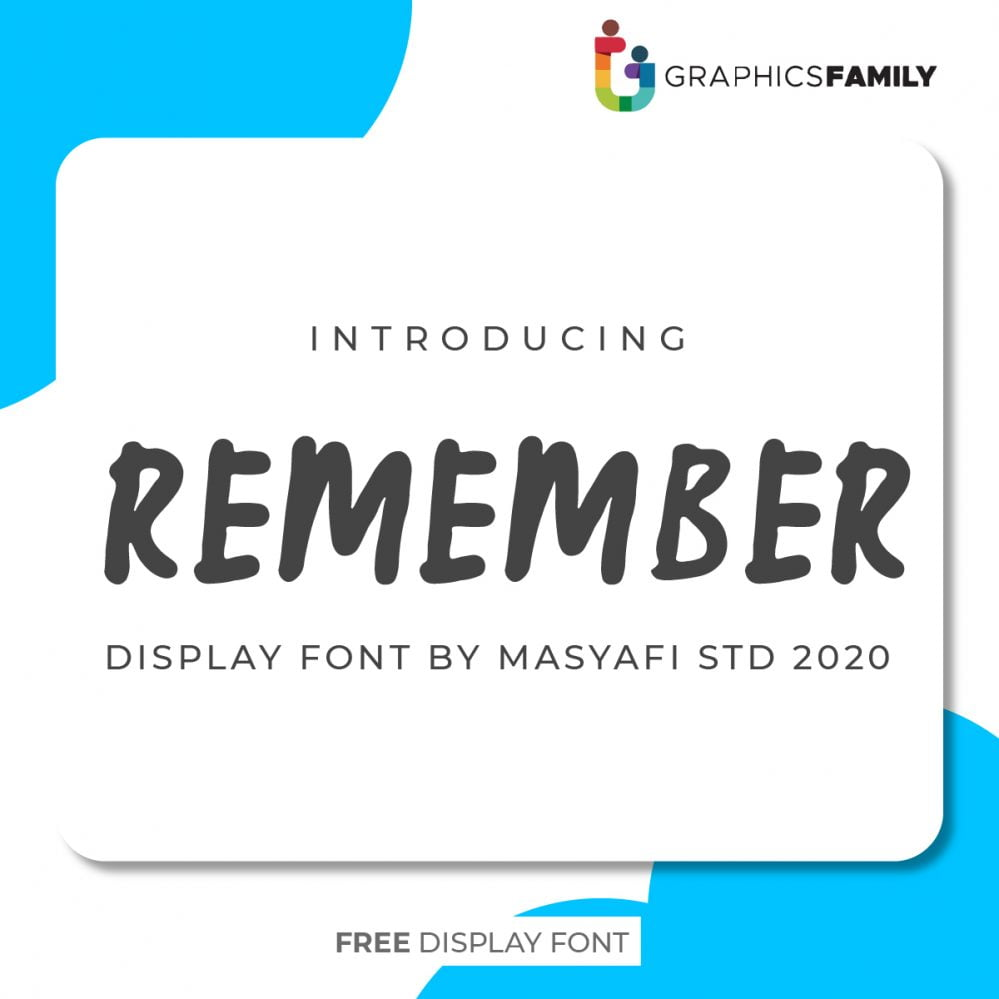 REMEMBER FONT