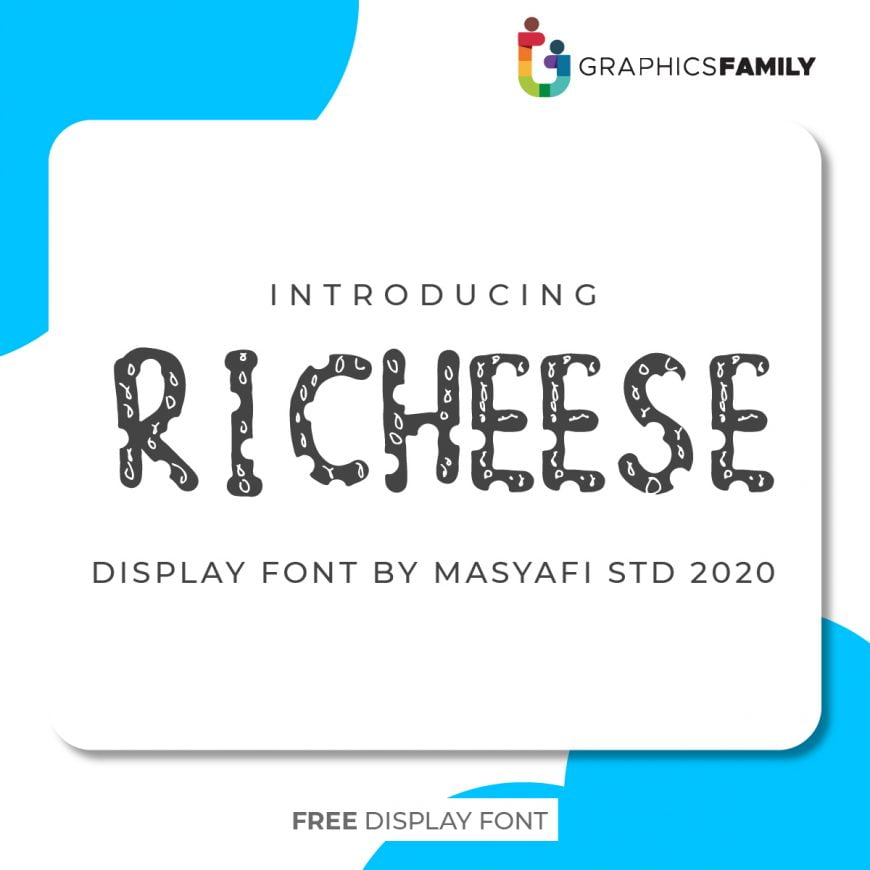 RICHEESE FONT DOWNLOAD