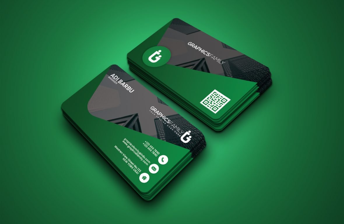 Real Estate Free Business Card Template Design