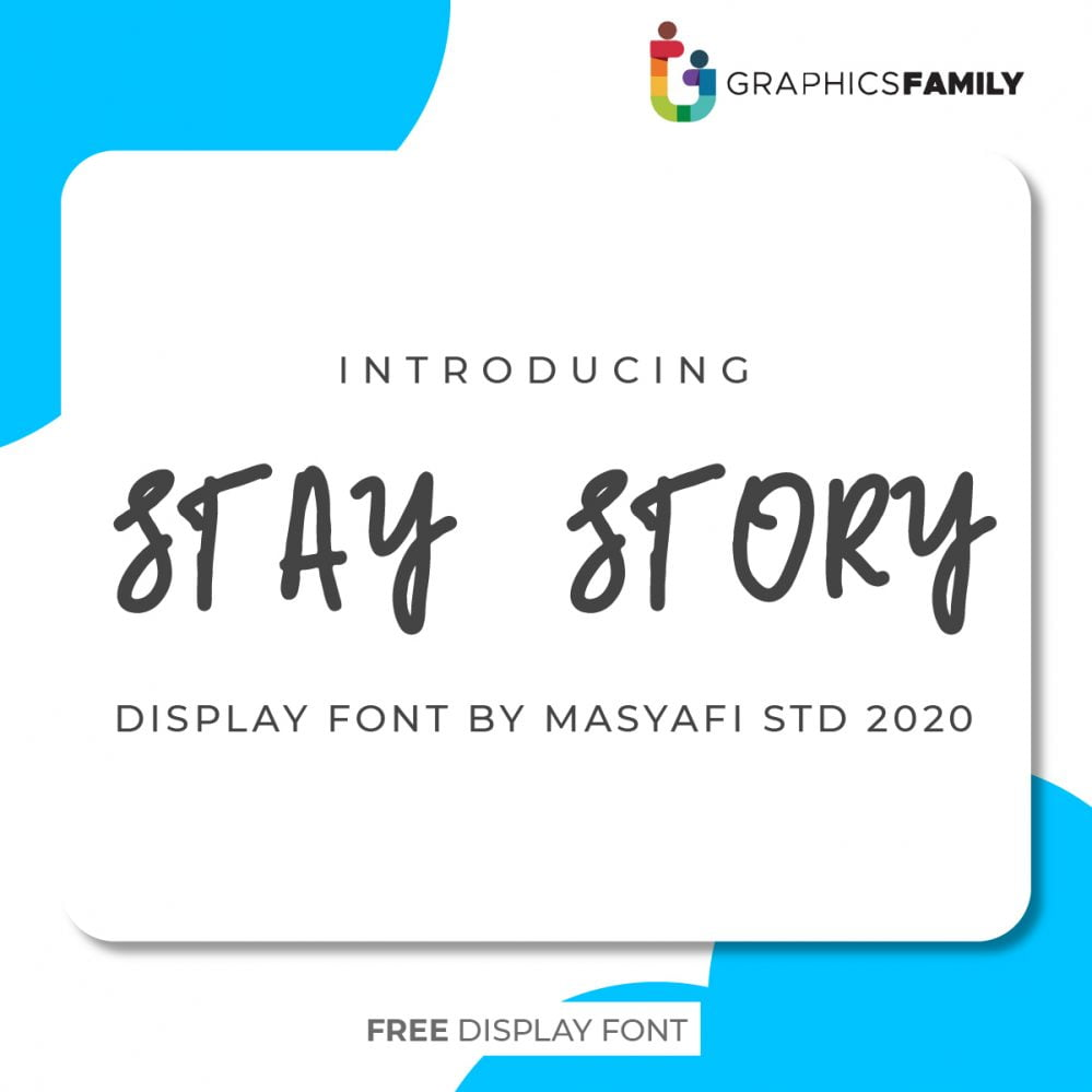 STAY STORY FONT