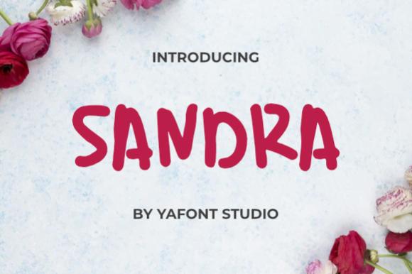 Sandra-Fonts-Download