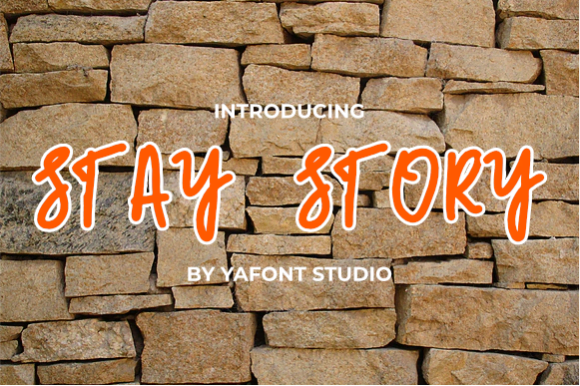 Stay-Story-Font-Download
