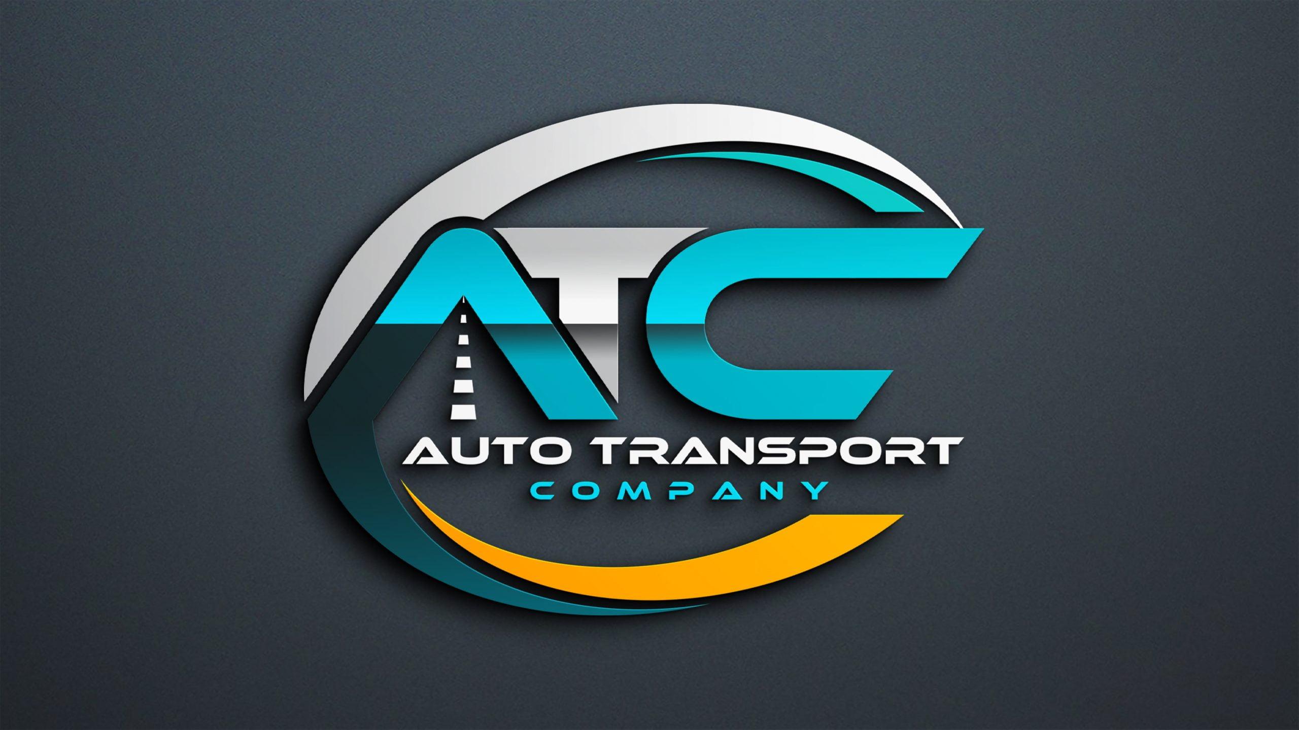Transport Company Logo Design PSD Download