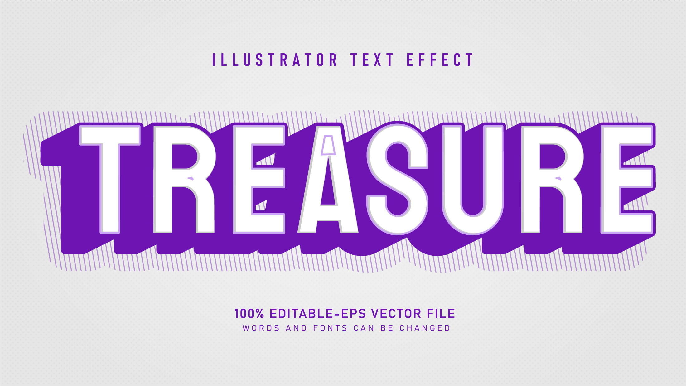 Treasure-Cool-Retro-Text-Effect