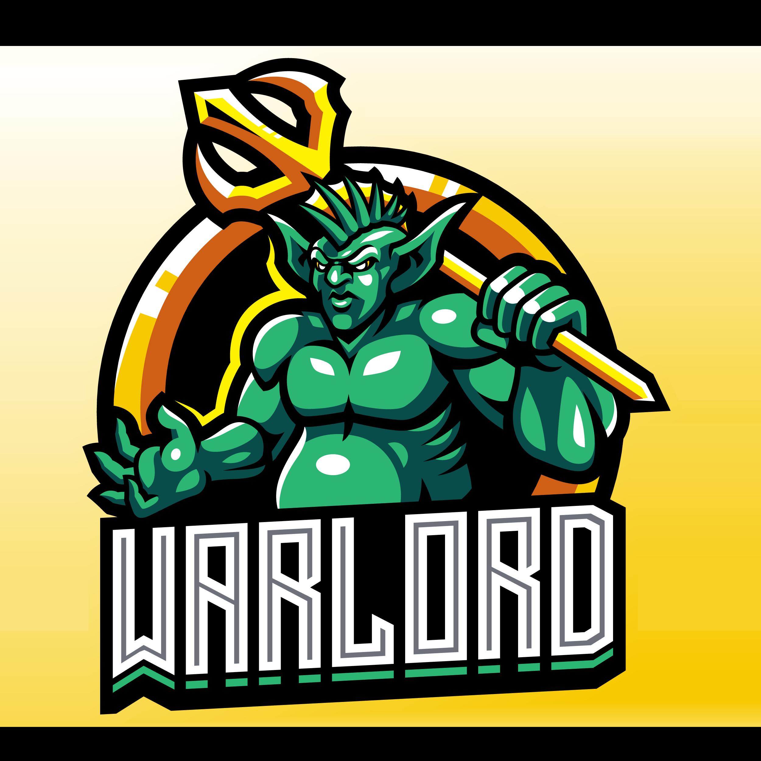War-Lord-Esports-Mascot-Logo-Template-PNG-Transparent
