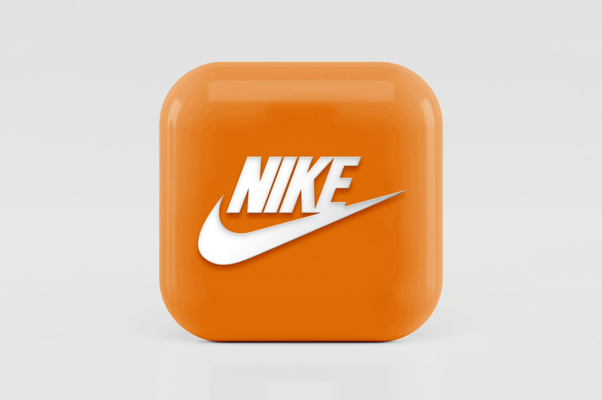 3D Icon Logo Mockup Nike