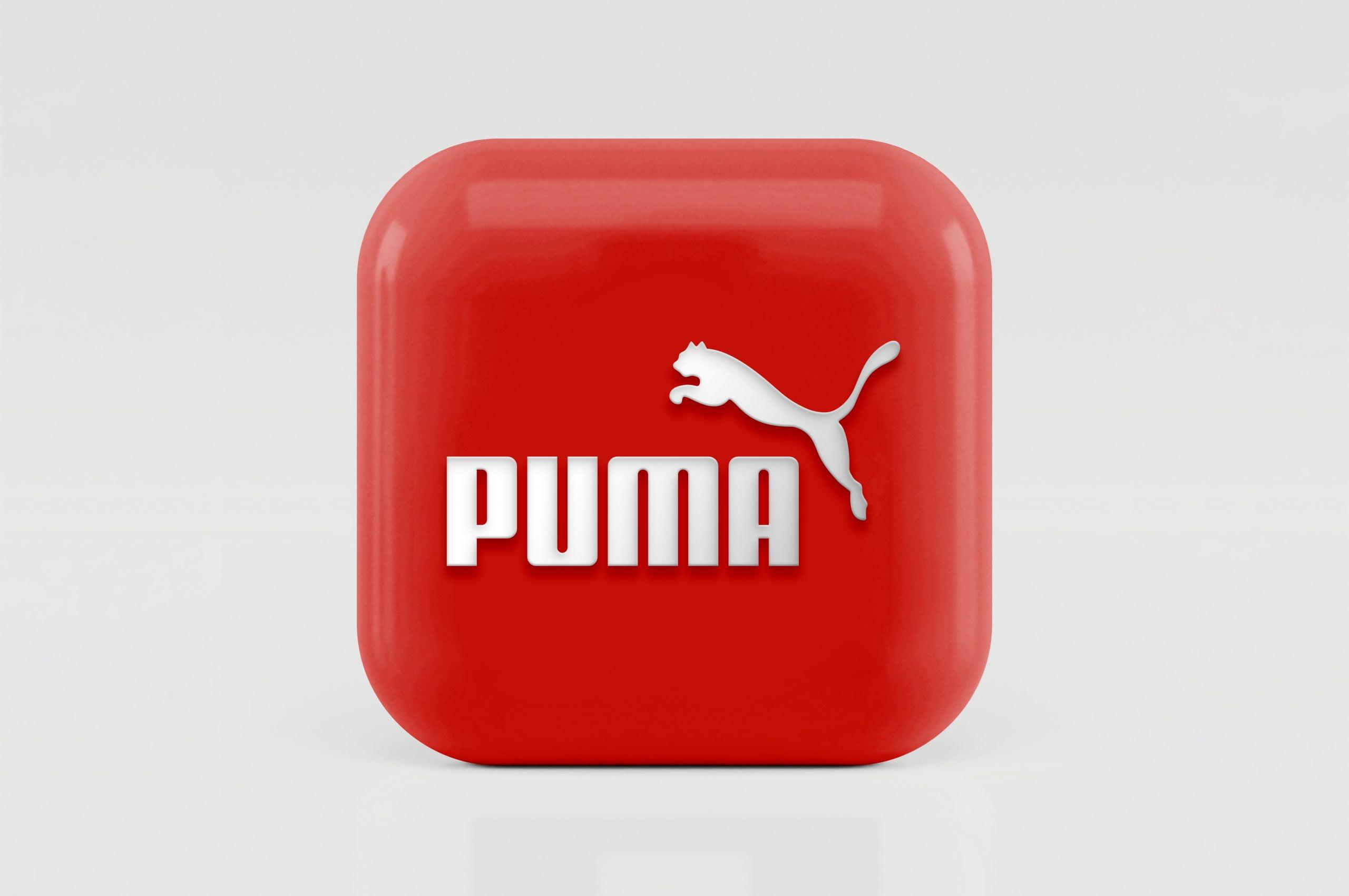3D Icon Logo Mockup Puma