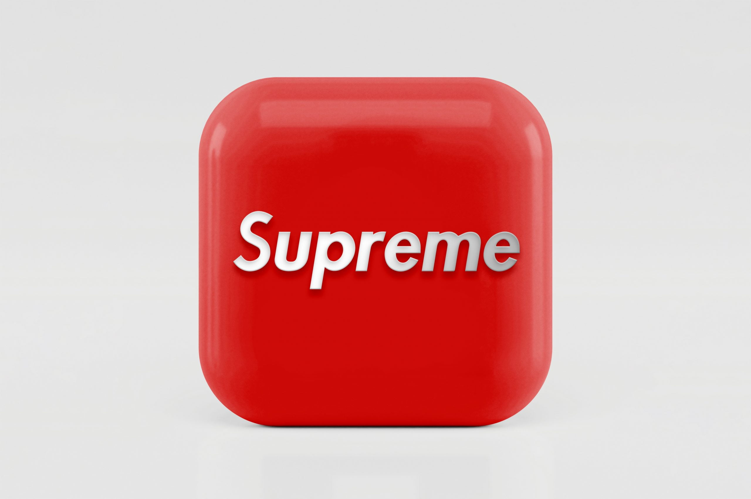 3D Icon Logo Mockup Supreme
