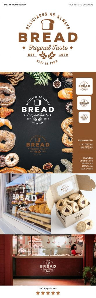Bakery Logo Preview Download