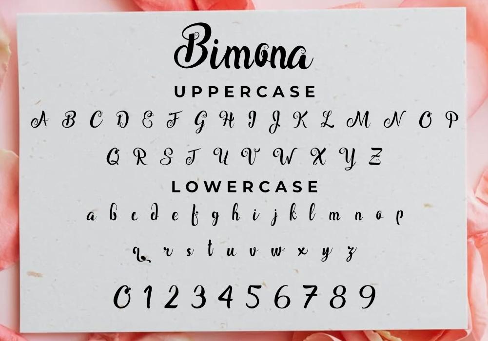 Bimona Font Download