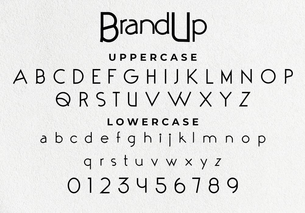 BrandUp Font Download