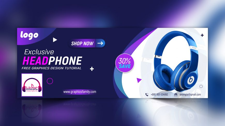 Cool Gadgets Facebook Cover Template Design