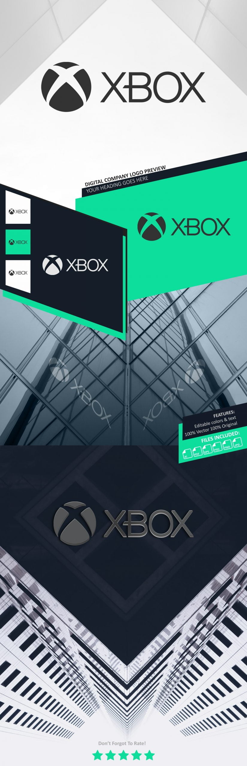 Cutting Edge Logo Preview Mockup Download