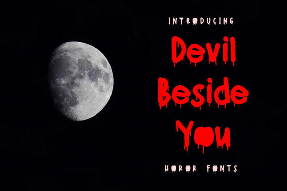 Devil-Beside-You-Font Download