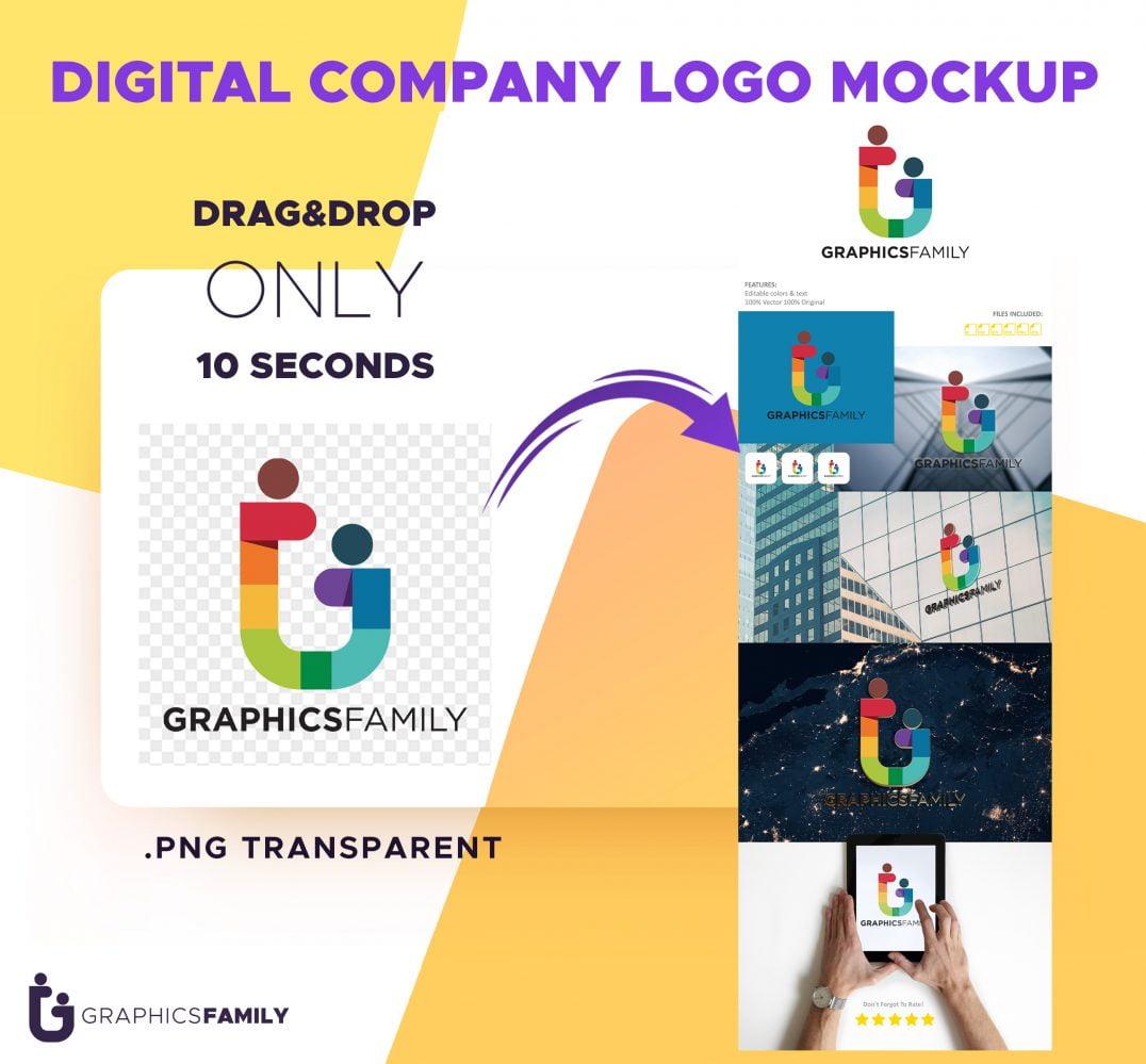 Digital-Company-Logo-Mockup