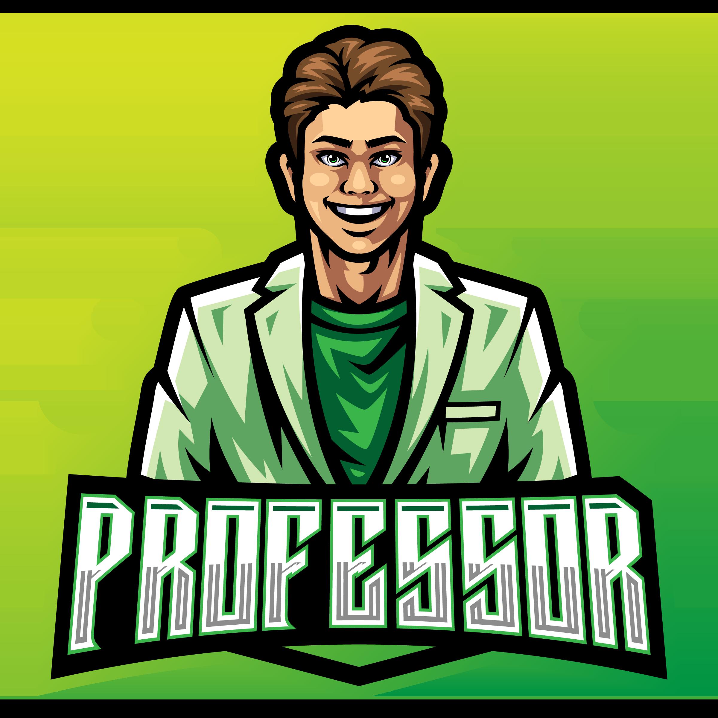 El-Professor-Mascot-Logo-Template-PNG-Transparent