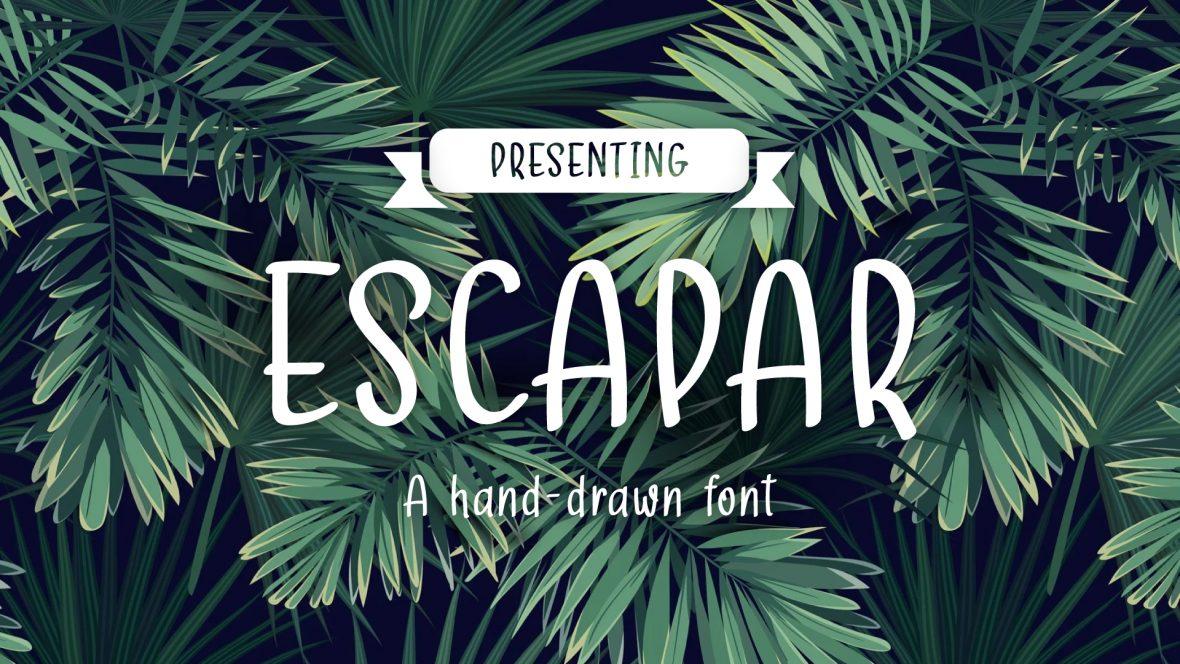 Escapar Font Download