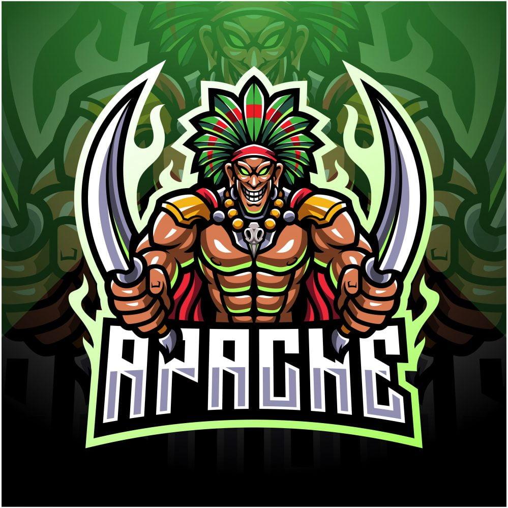 Free Apache Mascot Logo