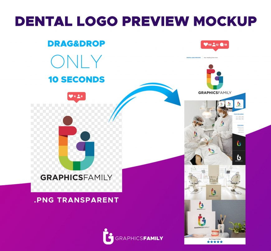 Free-Dental-Logo-Preview-Mockup-Download