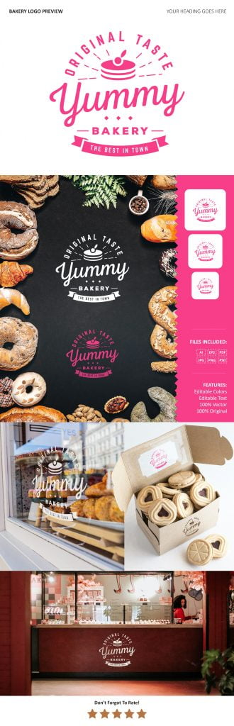 Free Download Bakery Logo Preview