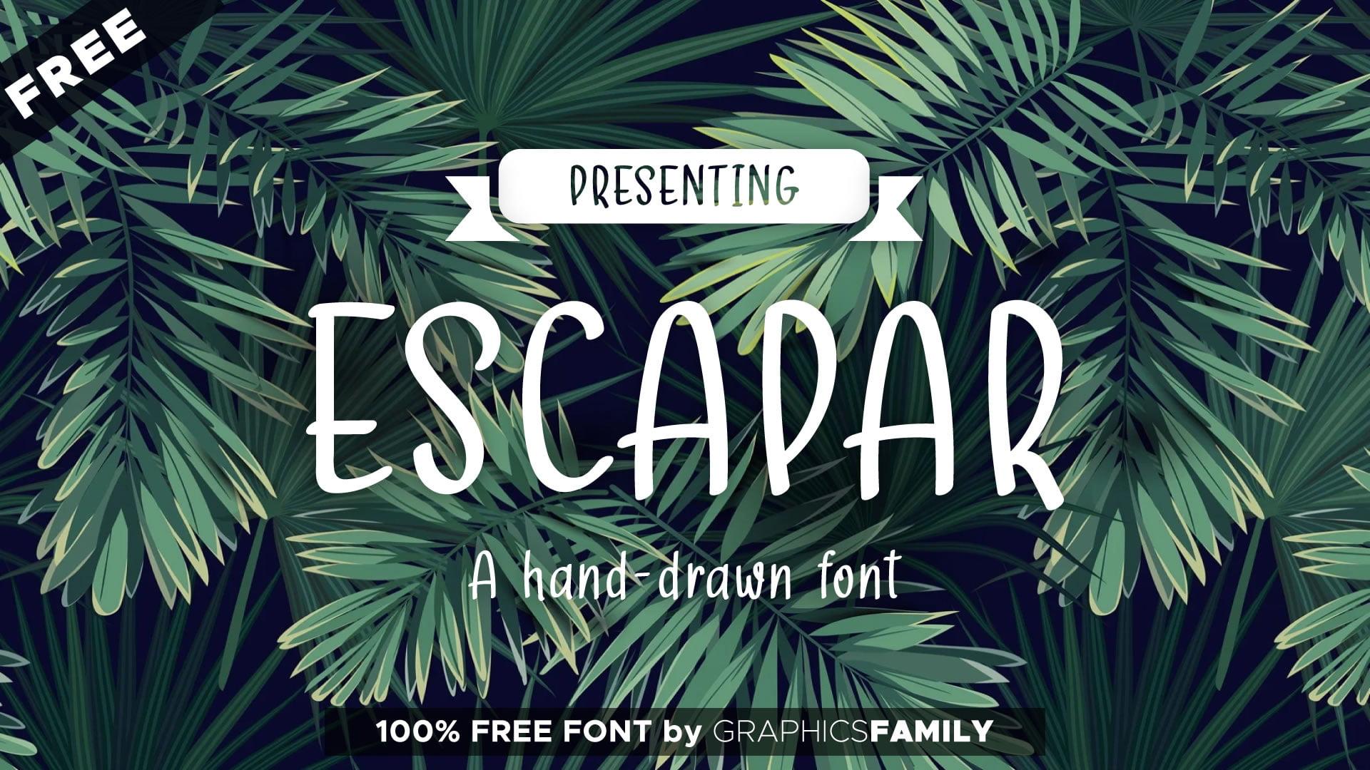 Free Escapar Font