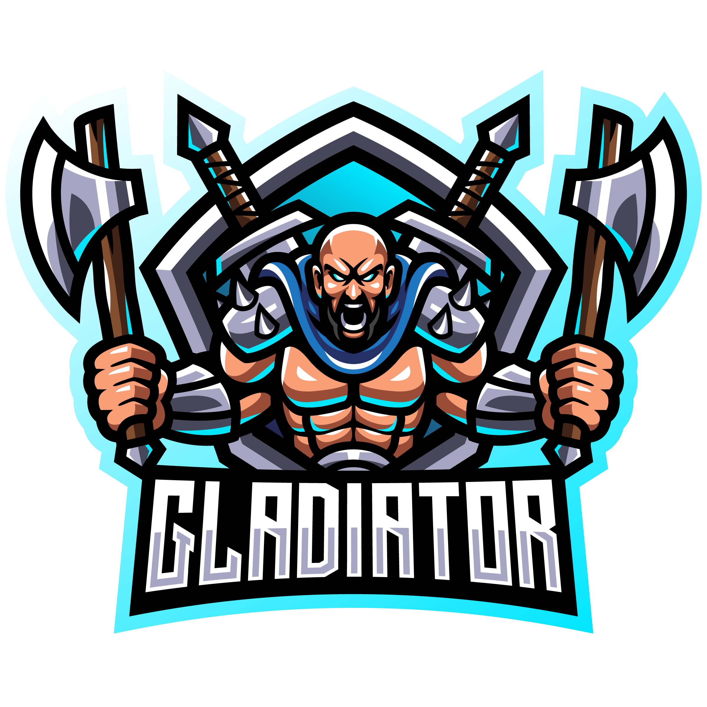 Free-Gladiator-Fighter-Esports-Mascot-Template-PNG-Transparent