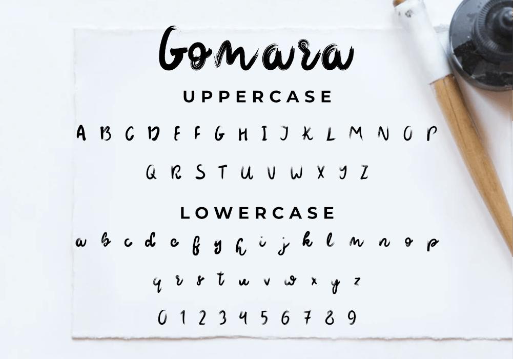 Free Gomara Font