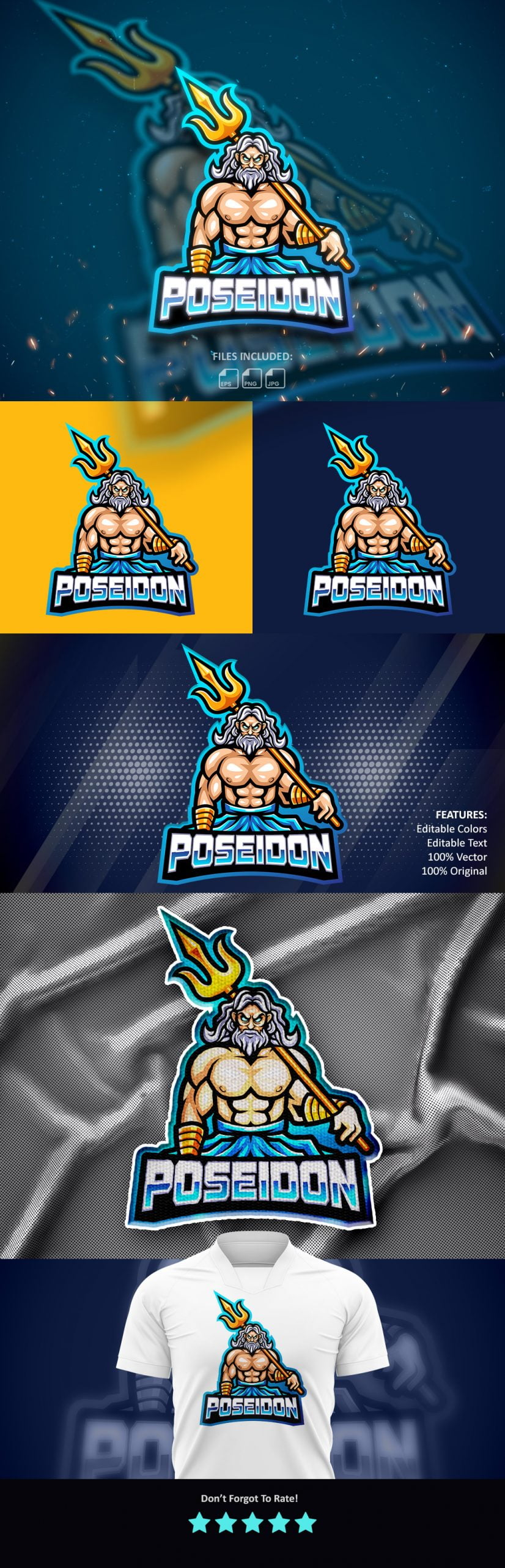 Free-Poseidon-Legend-Mascot-Logo-Download