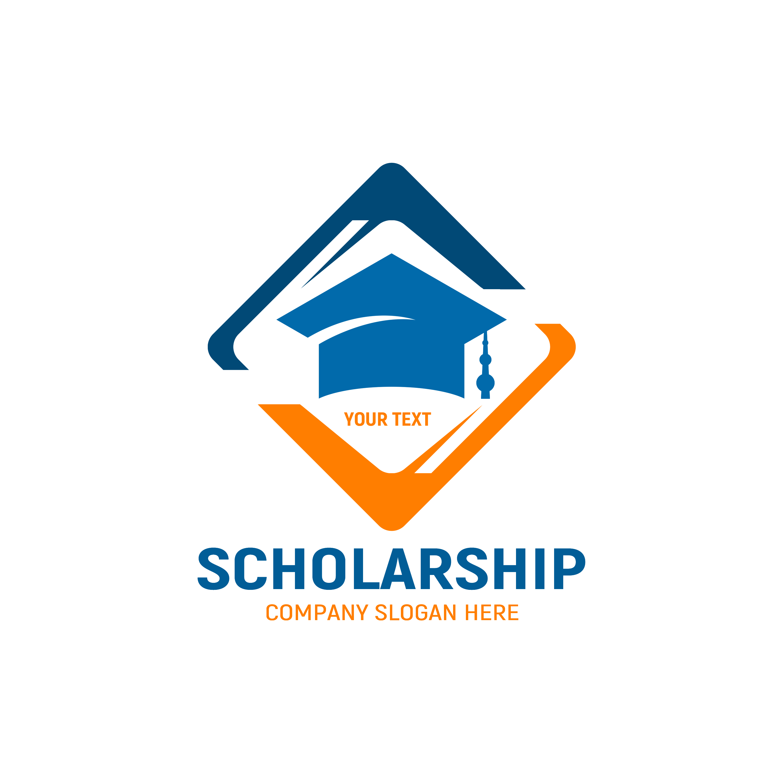 Free Scholarship Logo Template Design PNG Transparent
