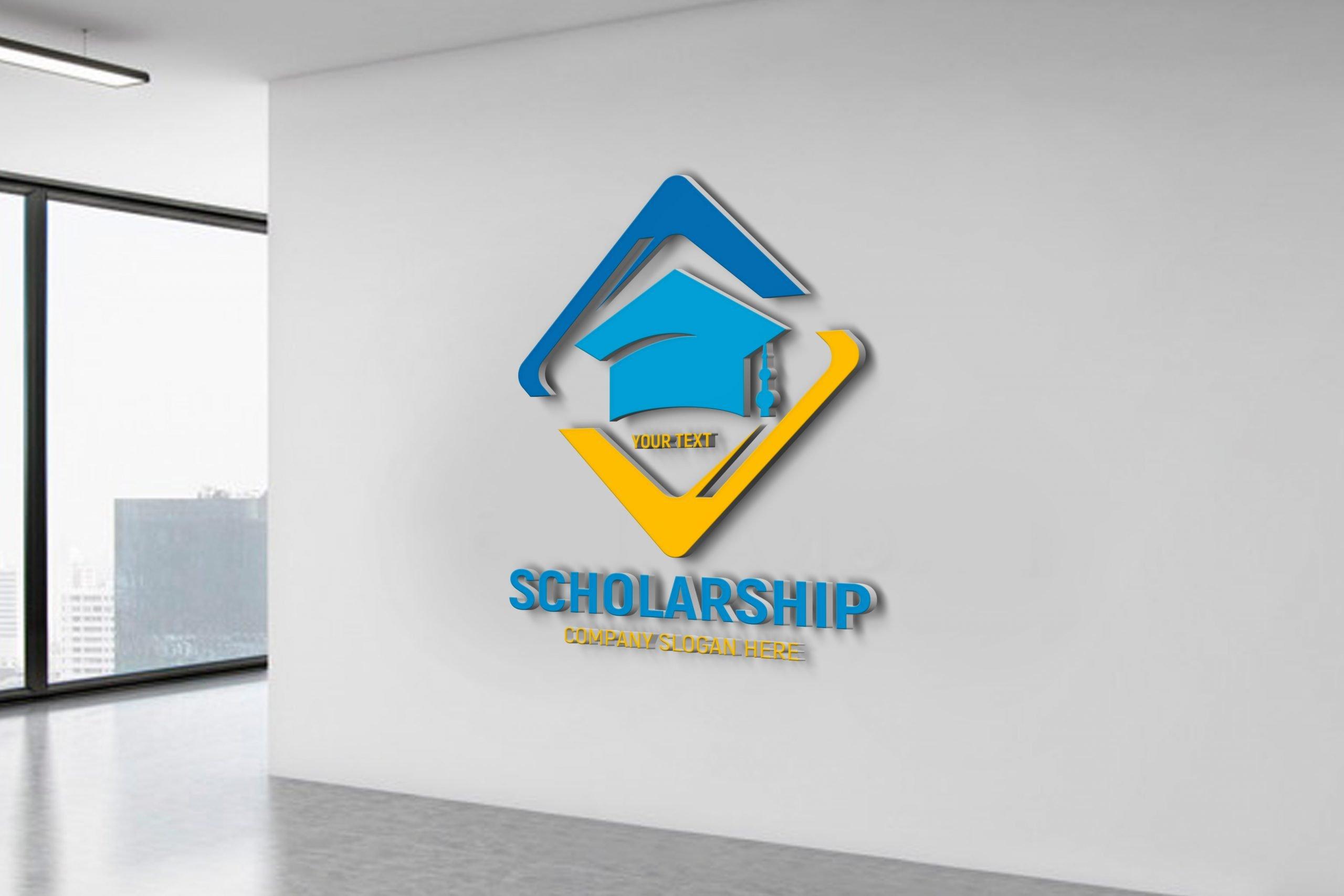 Free Scholarship Logo Template