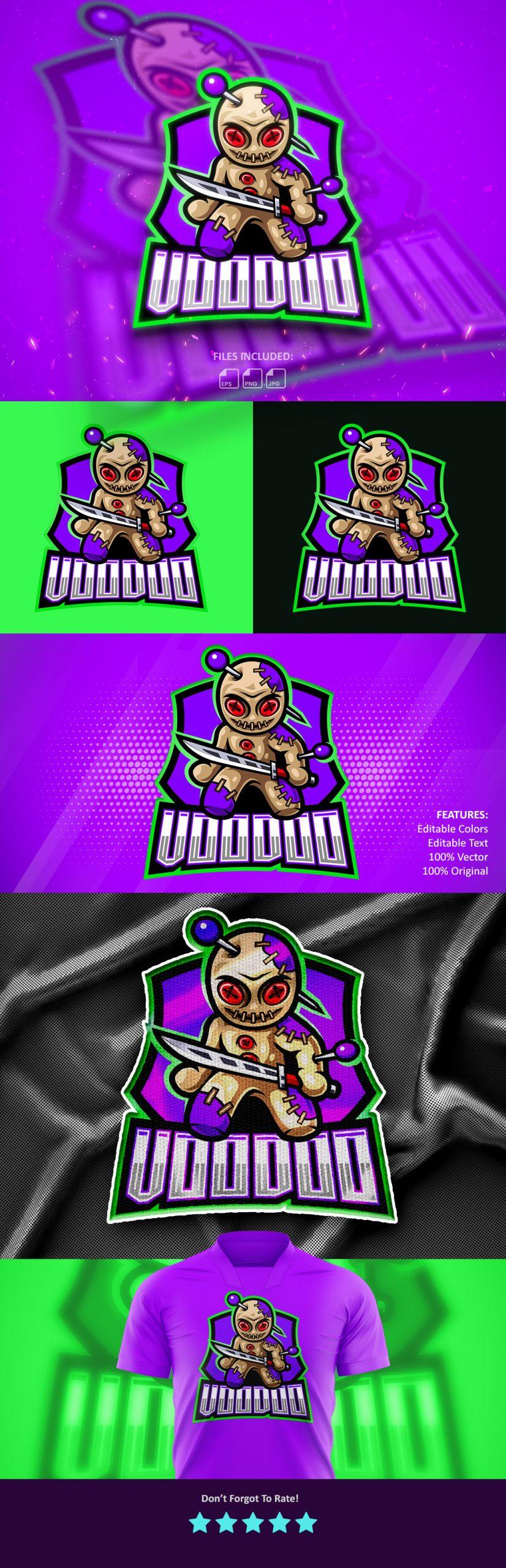 Free-VooDoo-Mascot-Logo-Download