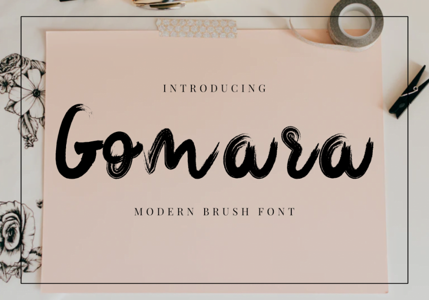 Gomara Font by GraphicsFamily