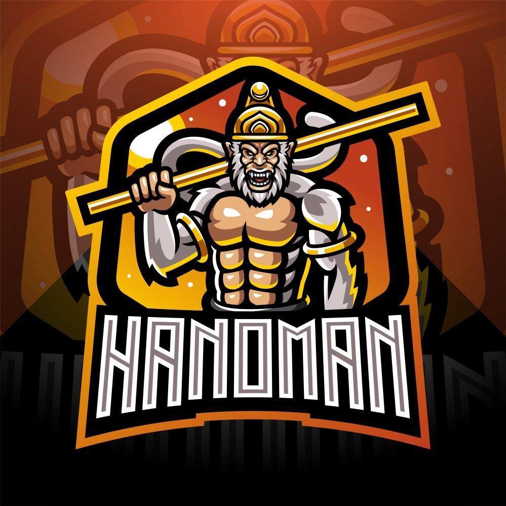 Hanoman Mascot Logo
