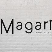 Magari Font Family