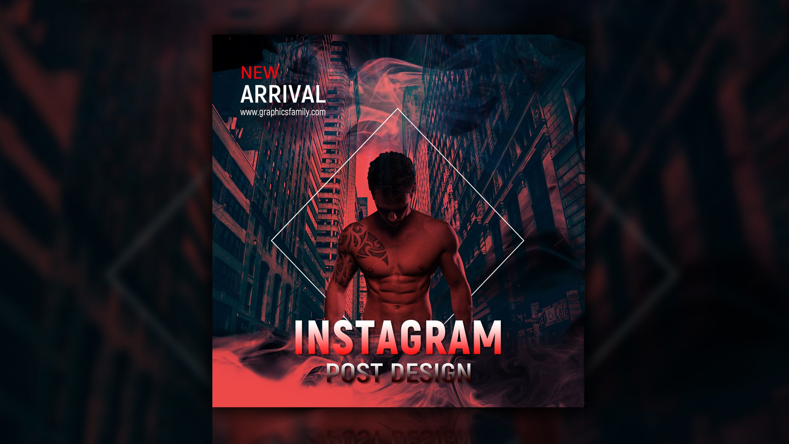 New Arrival Instagram Post Design Download