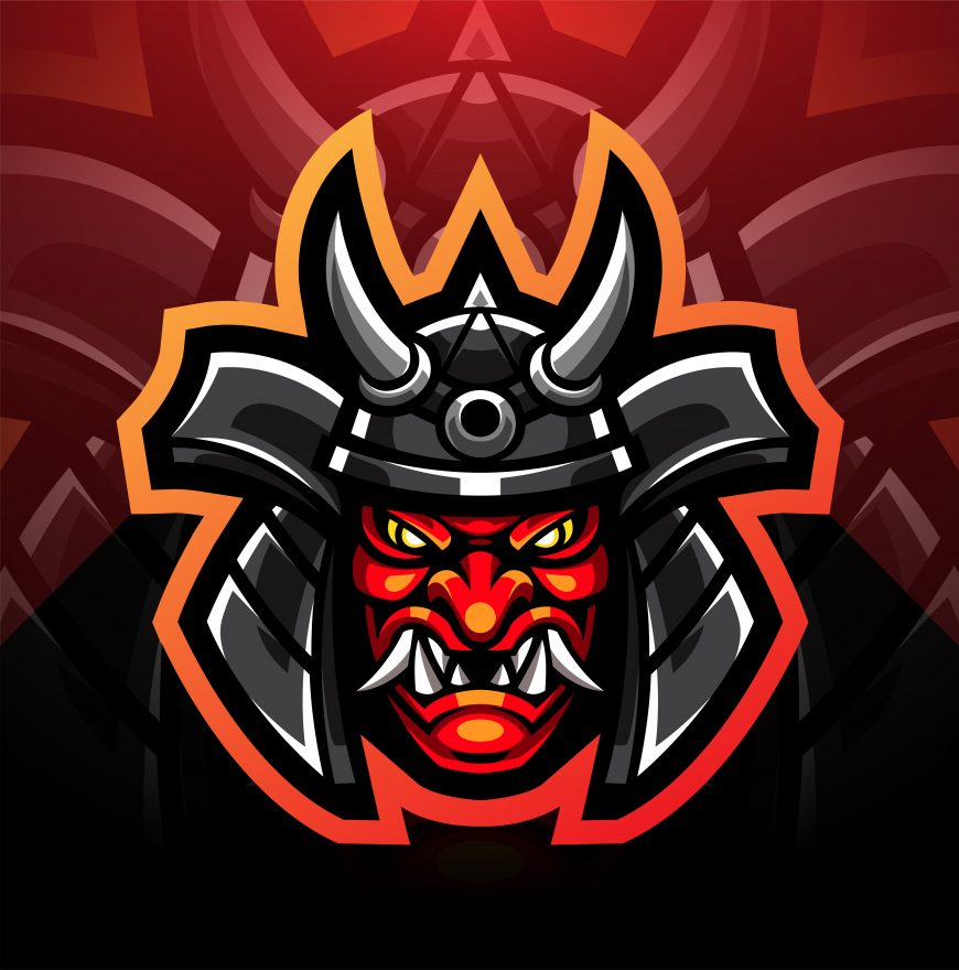 Ogre Warrior Mascot Logo